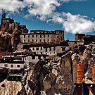 ridge gompa. northern india  by tim buckley | bodhiimages