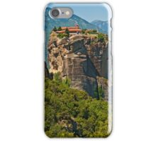 Monastery of the Holy Trinity, Meteora iPhone Case/Skin