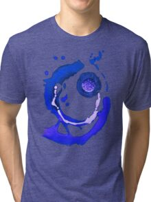 BLUE Meteorite Tri-blend T-Shirt