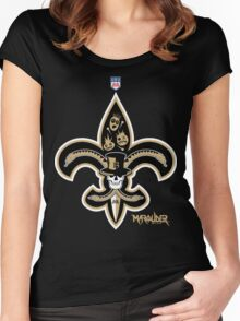 New Orleans Football Women's Fitted Scoop T-Shirt