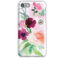 beautiful illustration of Hand Painted flower Wild  iPhone Case/Skin