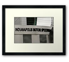 The Winner's Circle Framed Print