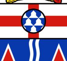 Yukon Coat of Arms Sticker