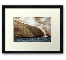 Yellowstone Alive Framed Print