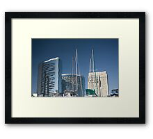 A Wave In The Fabric Of Time Framed Print