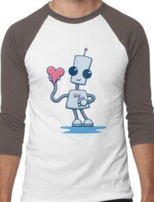Ned's Heart Men's Baseball ¾ T-Shirt