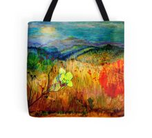 At the Edge of Dreaming Fields Tote Bag
