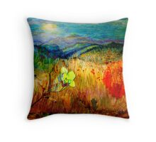 At the Edge of Dreaming Fields Throw Pillow