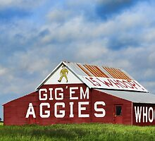 Aggie Barn by Stephen Stookey