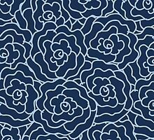 Elegance Seamless pattern with flowers by OlgaBerlet