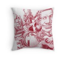Ye olde Jazz Band Throw Pillow