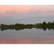 Reflections At Dusk, Manning River Photographic Print