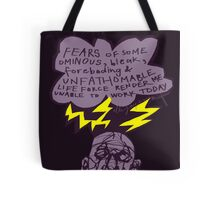 Unable to Work Tote Bag