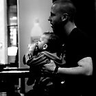 Father with Baby by Andrew  Makowiecki