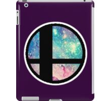 Galactic Smash Bros. Final destination iPad Case/Skin