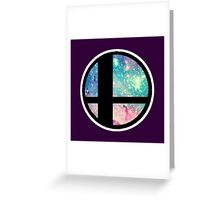 Galactic Smash Bros. Final destination Greeting Card