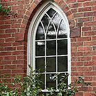 The Rector's Window by Bernadette Watts