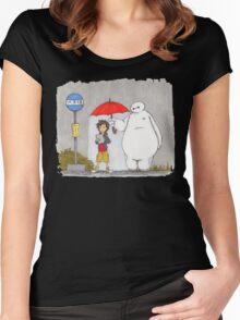 My Robot - My Best Friend Women's Fitted Scoop T-Shirt