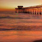 Cocoa Beach Pier Sunrise by Toua Lee