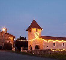 L'Église à Noël  by CaroT