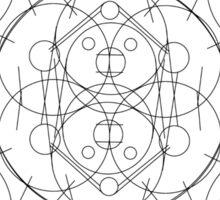 Crop Circle 1 (Variant 3) Sticker