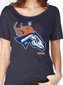 Denver Football's horse:  Pestilence Women's Relaxed Fit T-Shirt