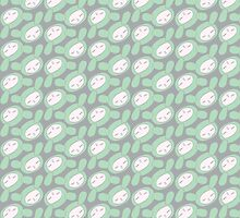Kawaii in green. by linepush