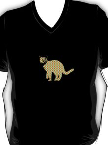 Patterned Cat T-Shirt