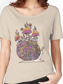 Mushroom Snail Women's Relaxed Fit T-Shirt