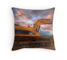 Off to work............. Throw Pillow