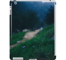 flowers on the trail. iPad Case/Skin