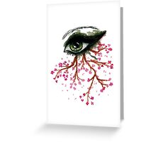 Sketch of an Eye Greeting Card