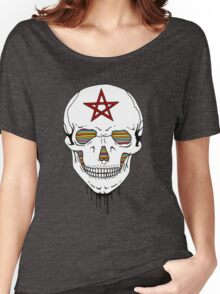 Trippy Skull Women's Relaxed Fit T-Shirt