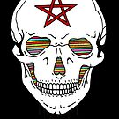 Trippy Skull by Octavio Velazquez