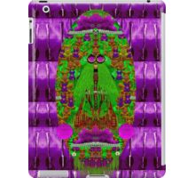 Lady Panda needs a motorcycle and a pen iPad Case/Skin
