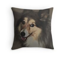SHELTIE II Throw Pillow