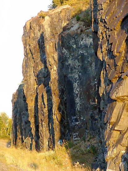 Red Rocks at Nipigon Bay by George Cousins