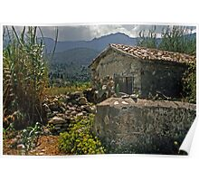 Lesvos, Greece landscape Poster