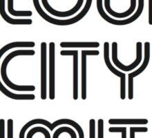 CLOUD CITY LIMITS Sticker