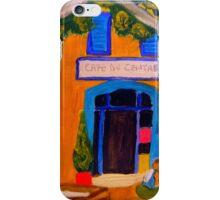 Lazing at Le Paradou iPhone Case/Skin