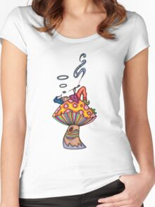 Toking Gnome Women's Fitted Scoop T-Shirt