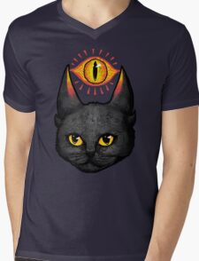Saurpuss Mens V-Neck T-Shirt