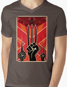 Join the R-Evolution! Mens V-Neck T-Shirt