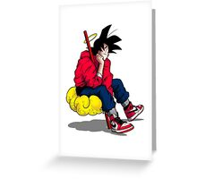 Goku's Day Off Greeting Card