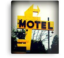 No Tell Motel Metal Print