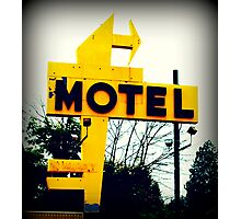 No Tell Motel Photographic Print
