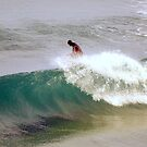 On the crest of a wave by Clive
