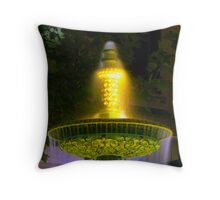 Close up of Rundle Mall Fountain, Adelaide. Throw Pillow