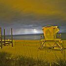 Night guard by Larry  Grayam