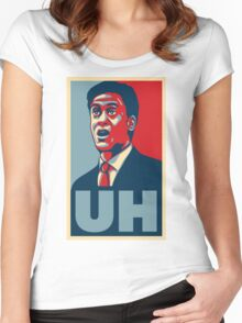 """""""Uh!"""" - Ed Milliband Women's Fitted Scoop T-Shirt"""